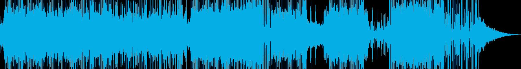 ハッピーな演出を彩るテクノポップ ★の再生済みの波形