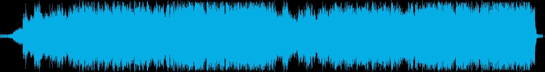 しっとり感のあるシンセギターサウンドの再生済みの波形
