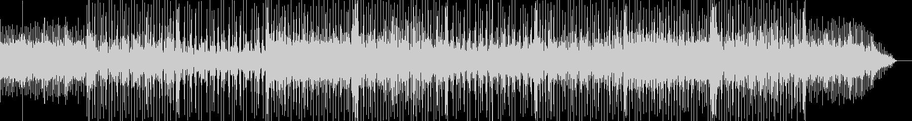 怪しく切ない雰囲気のBGMの未再生の波形