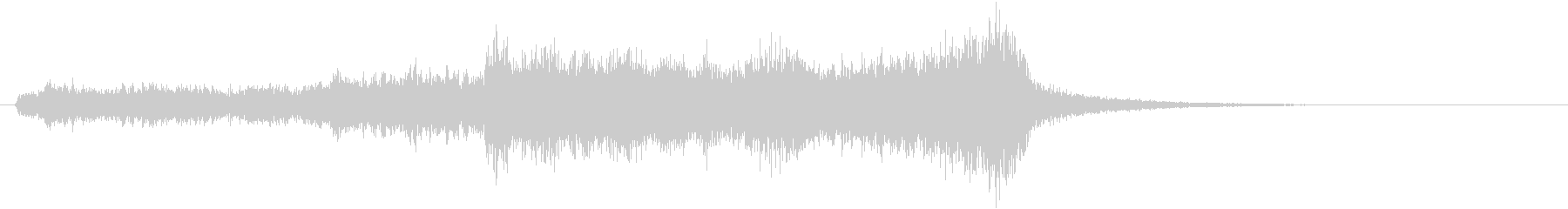トムとジェリー風なアニメ音楽「驚き」5の未再生の波形