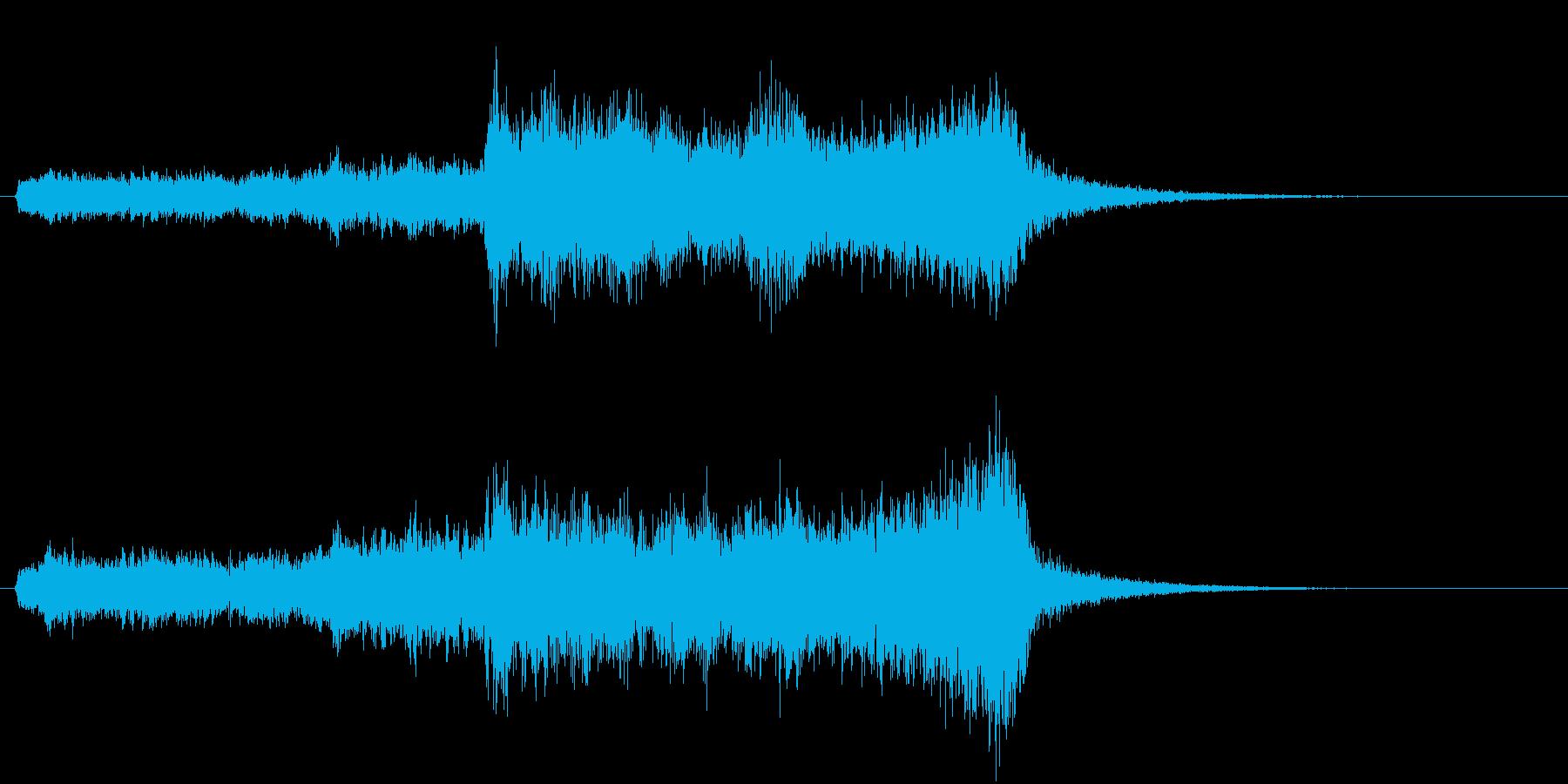 トムとジェリー風なアニメ音楽「驚き」5の再生済みの波形