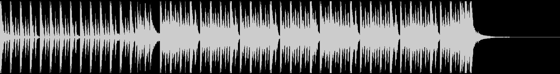 ドライブ(30秒)の未再生の波形