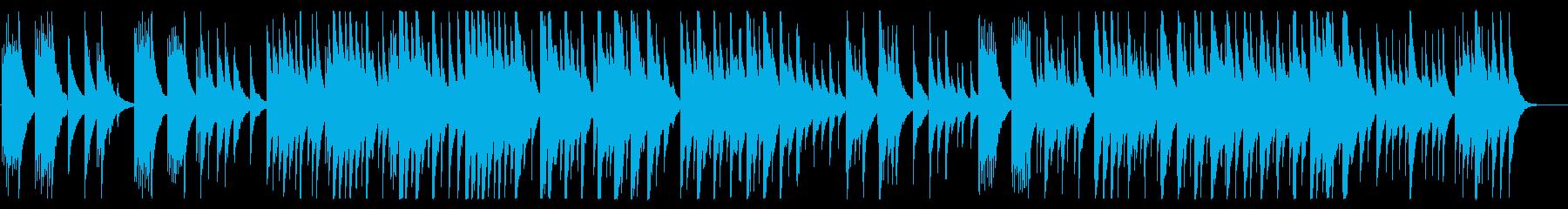 少し切なめな雰囲気のアコギ曲の再生済みの波形