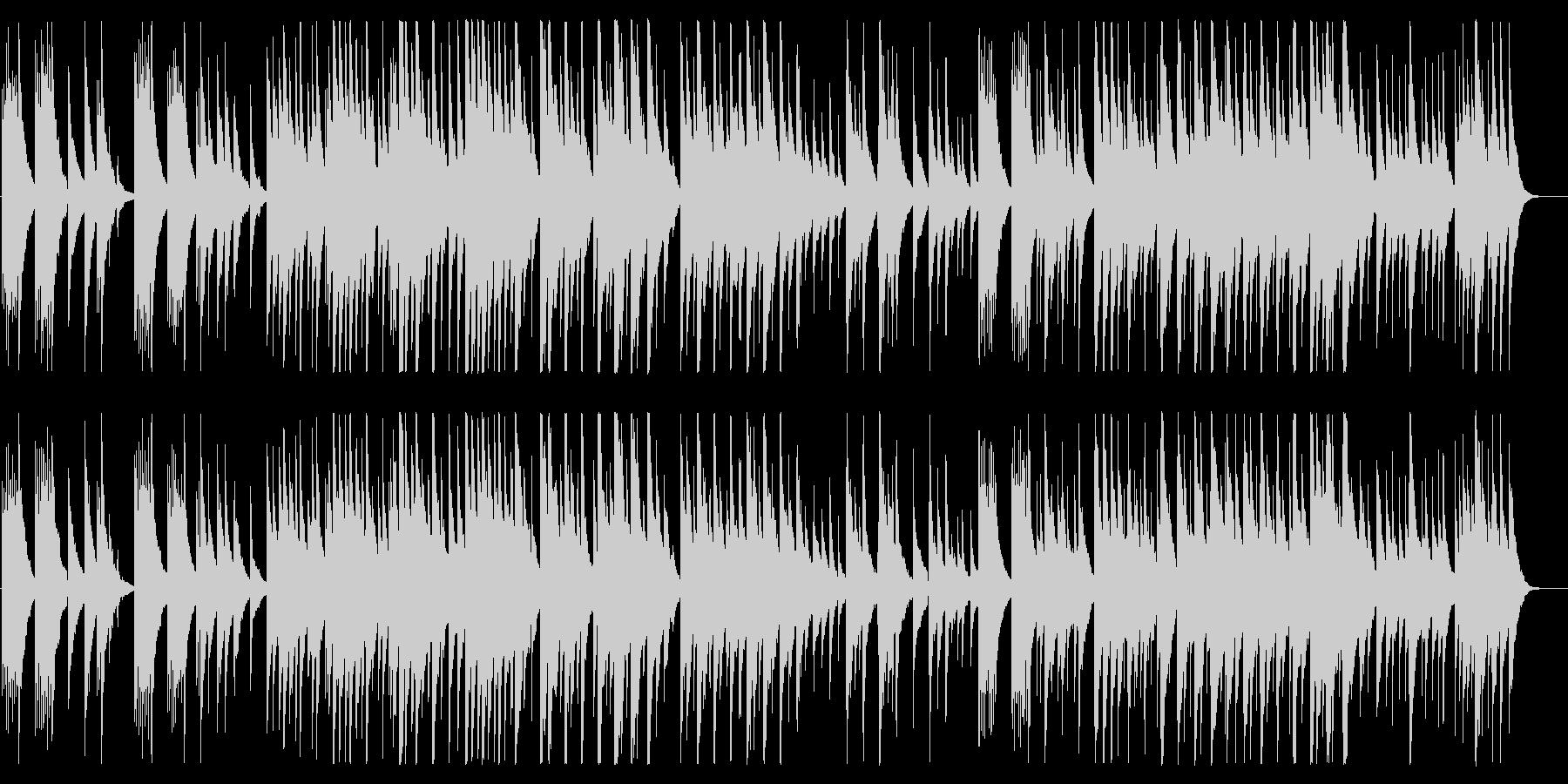 少し切なめな雰囲気のアコギ曲の未再生の波形