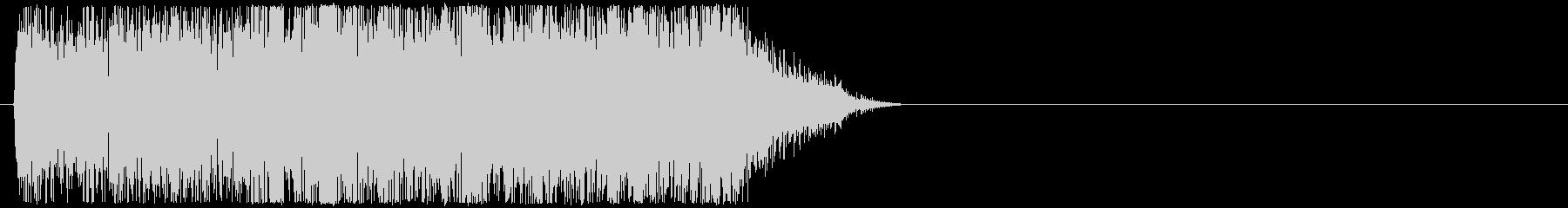 バリバリーッ(雷、放電、電撃)の未再生の波形