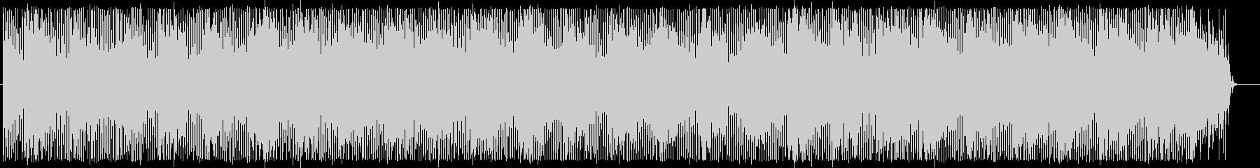 ほのぼのとしたエレクトロの未再生の波形