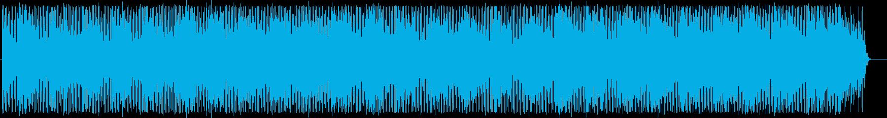 ほのぼのとしたエレクトロの再生済みの波形