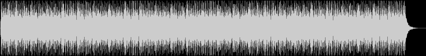 動画BGMに使いやすい爽やかなリフ曲の未再生の波形