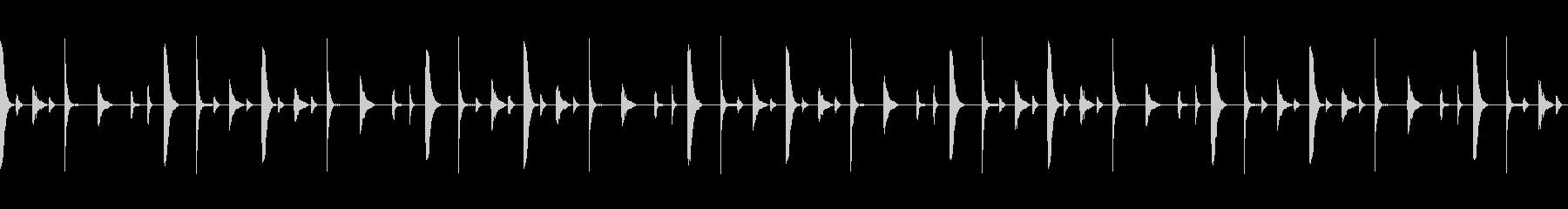シンキングタイムに使えそうなループ素材の未再生の波形