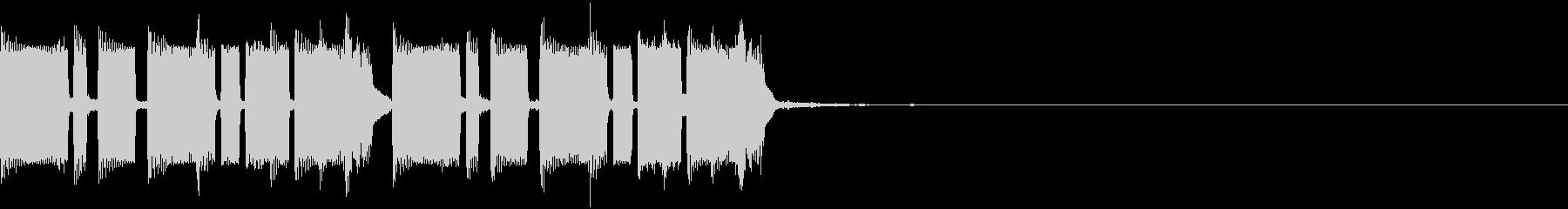 不気味・重低音・コミカル・EDMジングルの未再生の波形