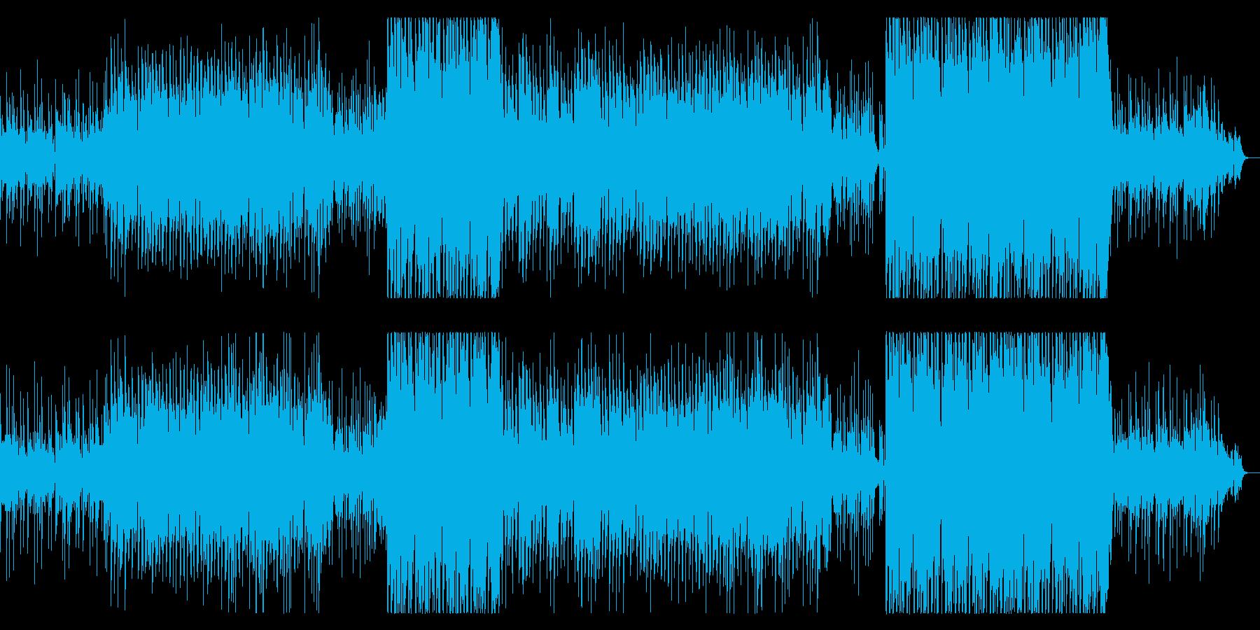 和を感じる女性ボーカルのトロピカルハウスの再生済みの波形