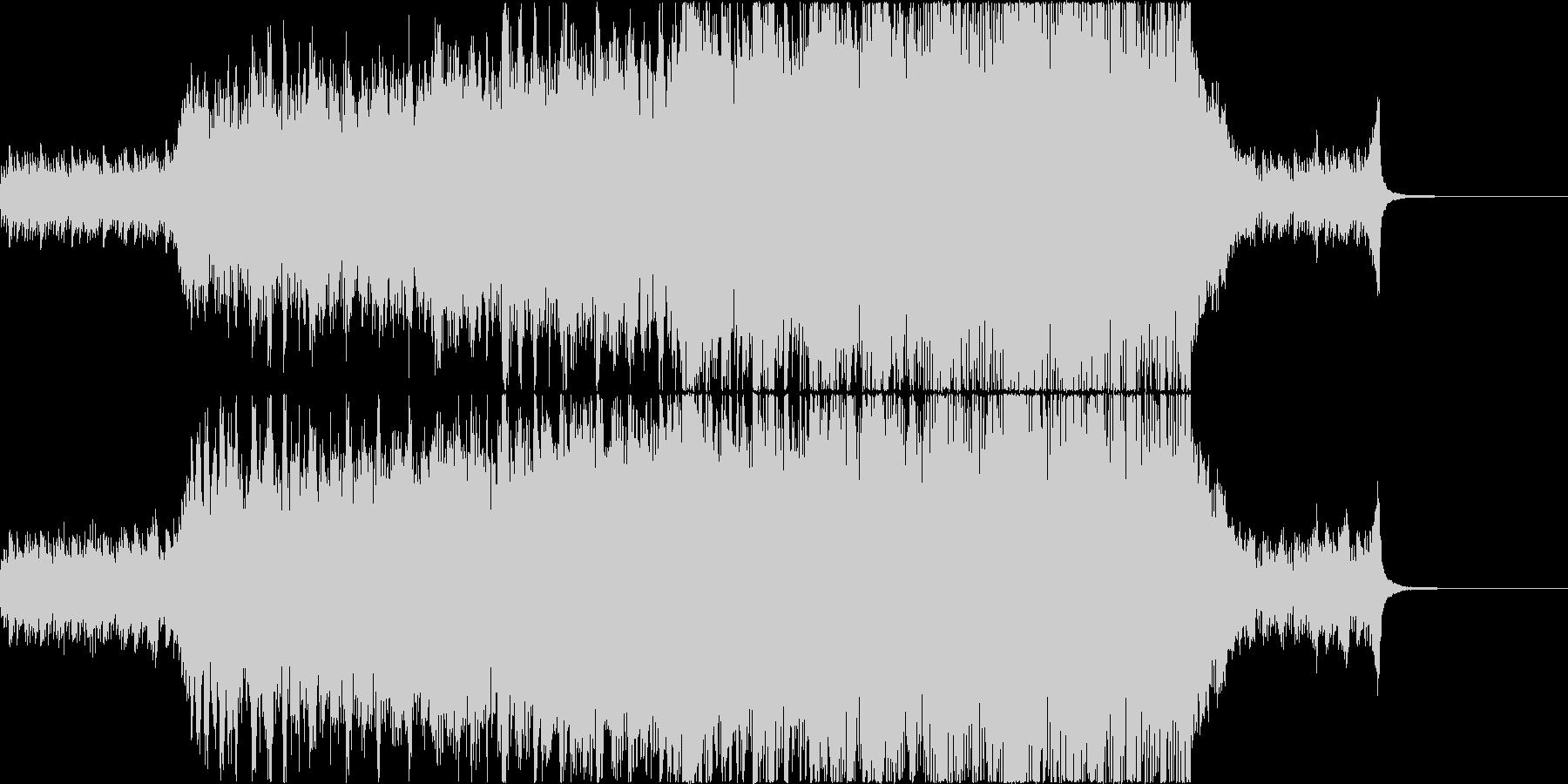 優しく感動的なポップオーケストラの未再生の波形