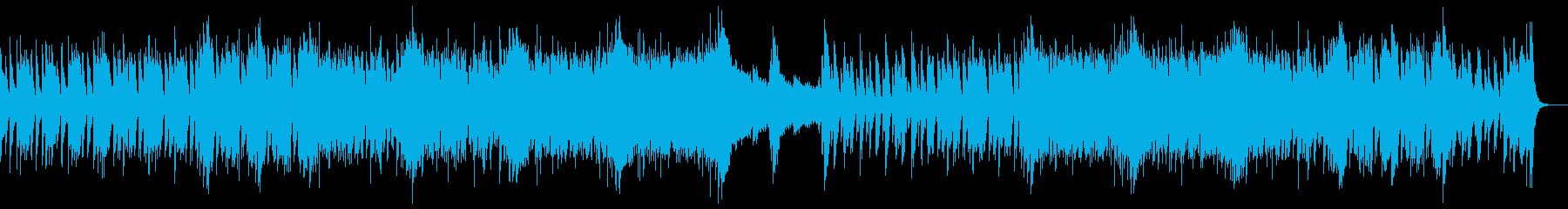 和楽器・和風・サムライヒーロー和楽器のみの再生済みの波形