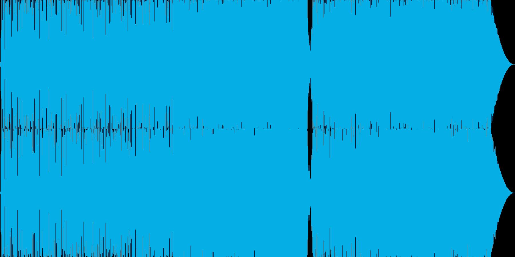 マイケルジャクソン風のR&B風トラックの再生済みの波形