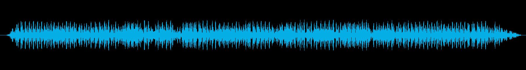 車 スバルインプレッサアイドル02の再生済みの波形