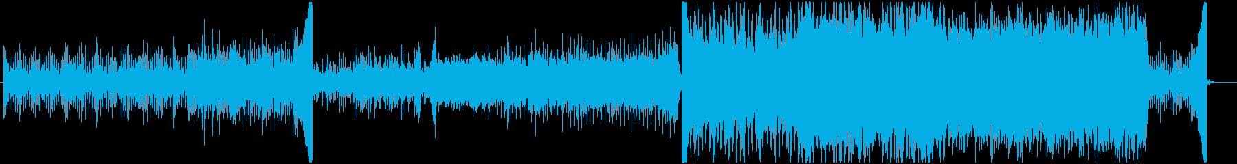 ものづくり・ワクワク系の動画BGMに最適の再生済みの波形
