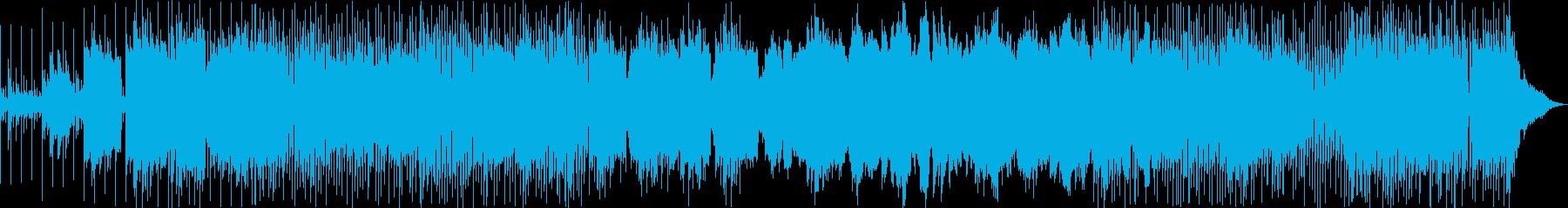 動画 サスペンス 技術的な 繰り返...の再生済みの波形