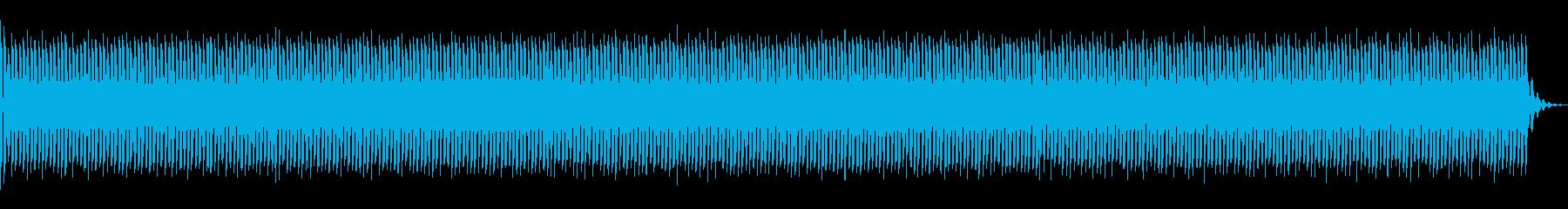 不気味な気配を描写の再生済みの波形