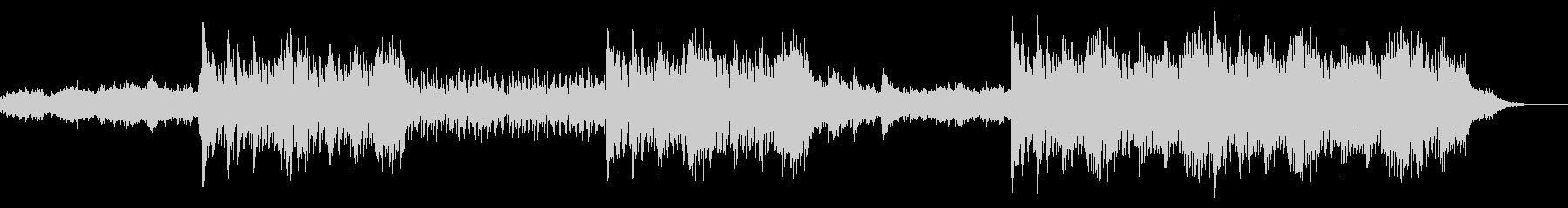 異世界庭園の音楽の未再生の波形