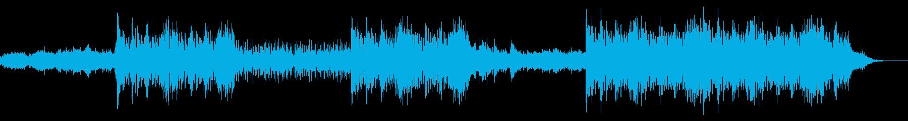 異世界庭園の音楽の再生済みの波形