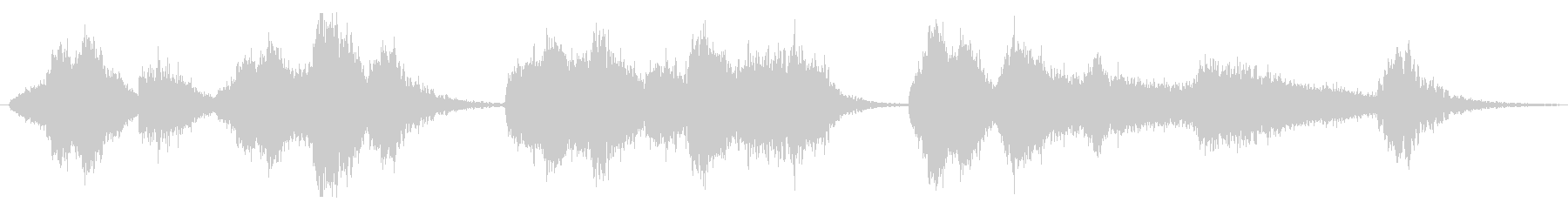現代的 交響曲 ドラマチック 管楽...の未再生の波形