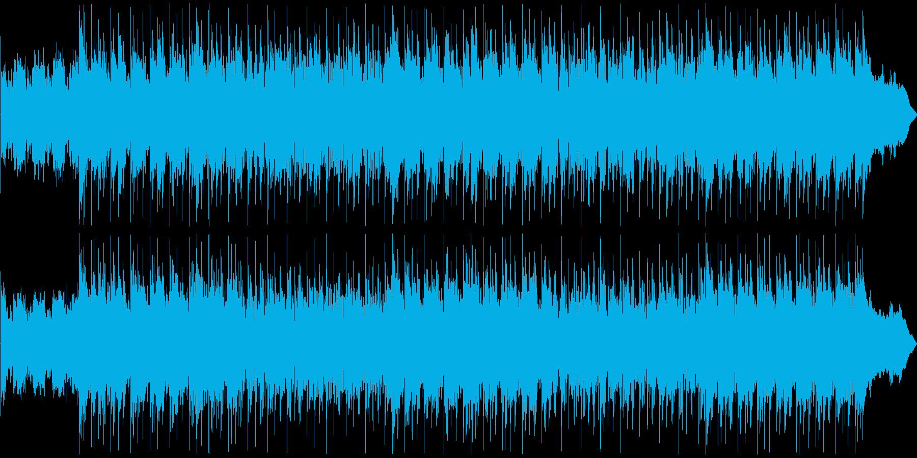 オープニングで使える迫力系メタルロックの再生済みの波形