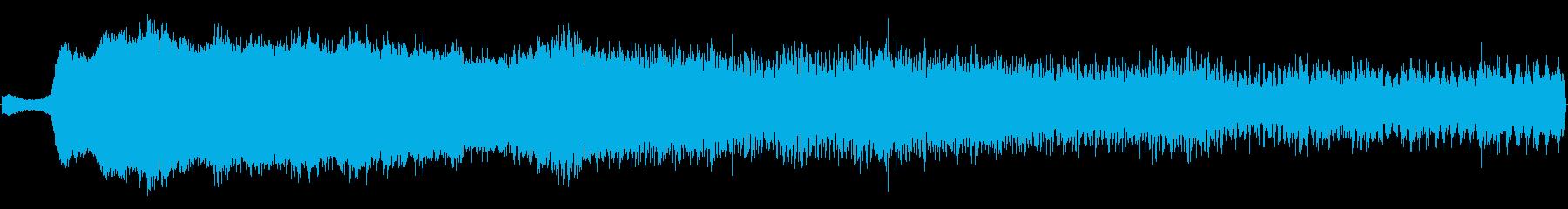 タイムマシン:到着の再生済みの波形