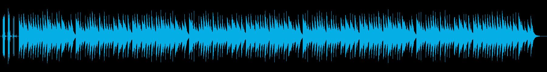童謡☆赤とんぼ☆リアルオルゴールの再生済みの波形