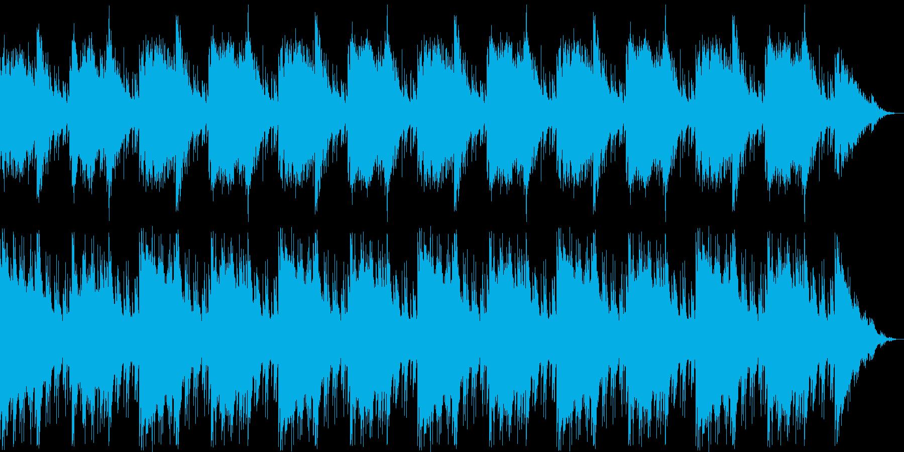 不安・悩み・シリアス・サスペンスの再生済みの波形