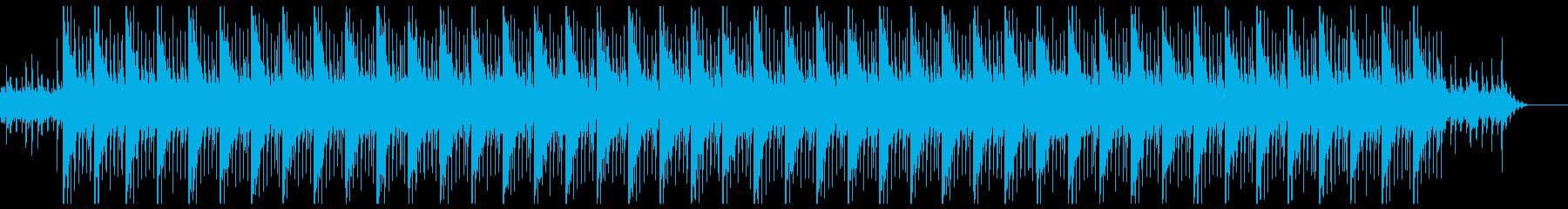 ピアノが弾ける朝の目覚めに似合うポップスの再生済みの波形