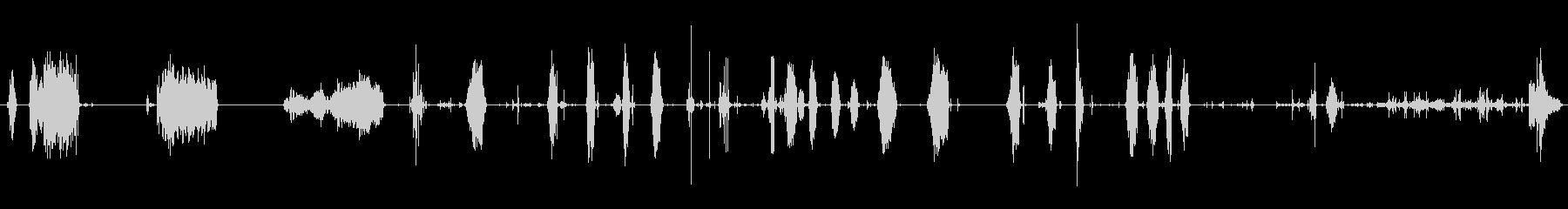 オープン、クローズ、複数の速度ジッパーの未再生の波形