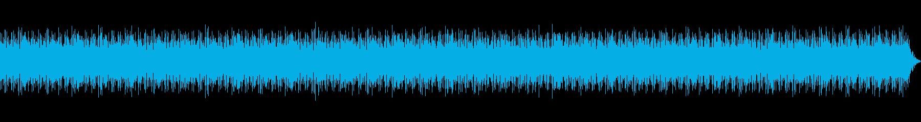 アウトドア・レジャー  ワクワクする音楽の再生済みの波形