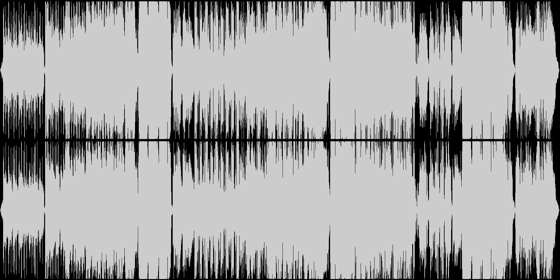 エレクトリックピアノバラードの未再生の波形