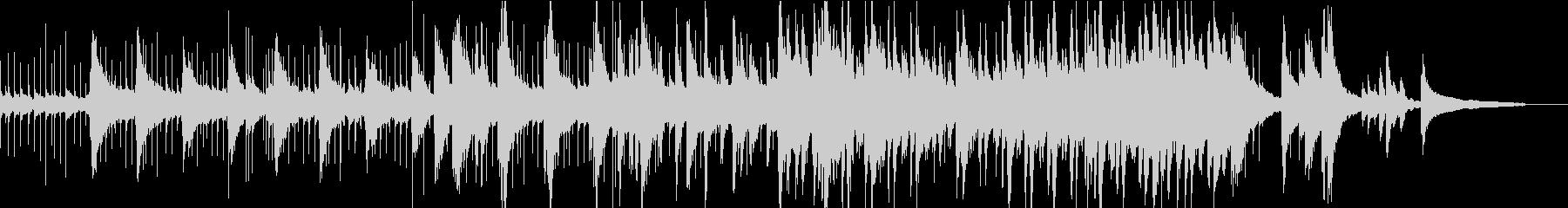 小さな閃きをイメージしたラテンポップスの未再生の波形