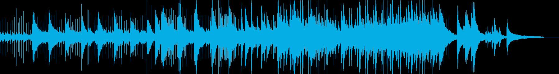小さな閃きをイメージしたラテンポップスの再生済みの波形