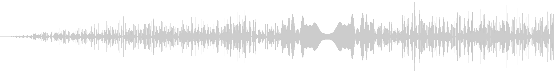 DJプレイ スクラッチ・ノイズ 3 短の未再生の波形