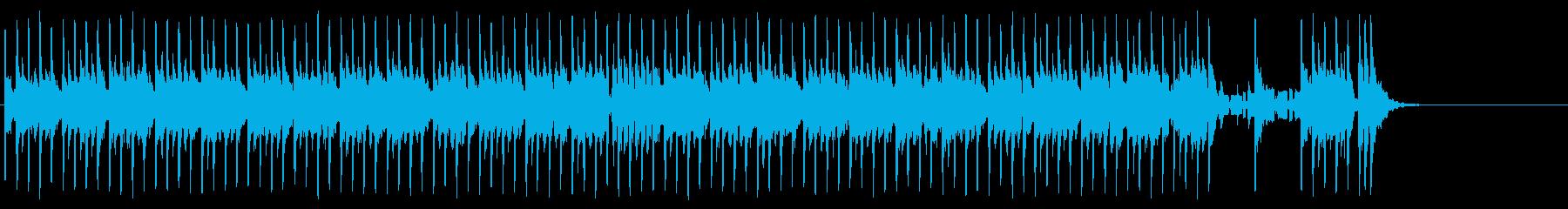 悪戦苦闘するコミカルなポップ/R&Rの再生済みの波形