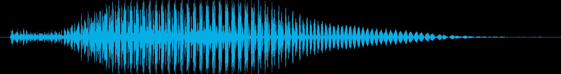 カンの再生済みの波形