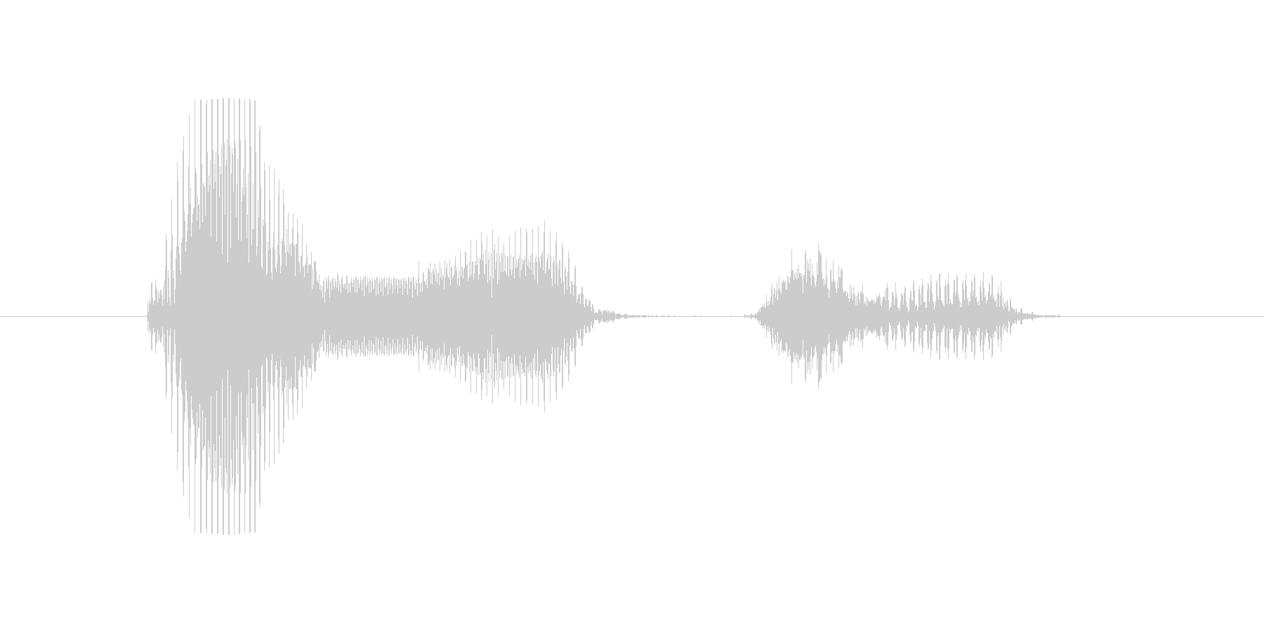 5月(5月・五月)の未再生の波形