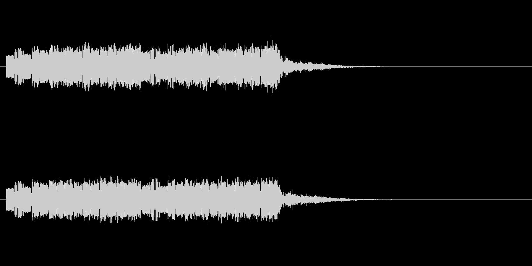 ピロピロポロの未再生の波形