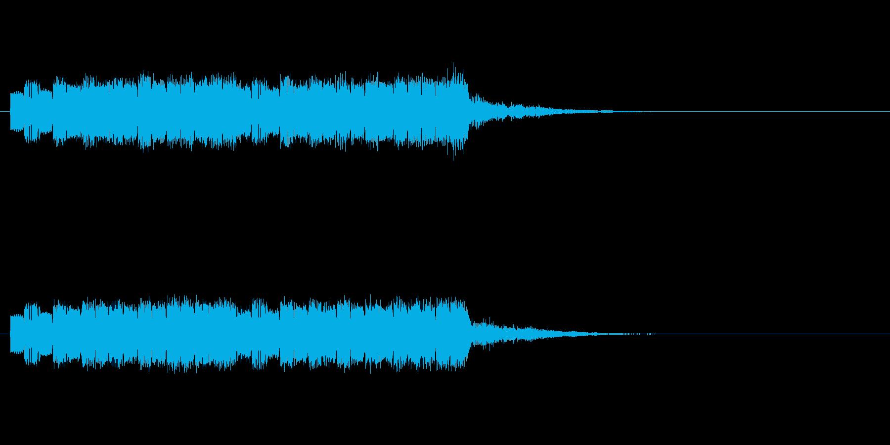 ピロピロポロの再生済みの波形
