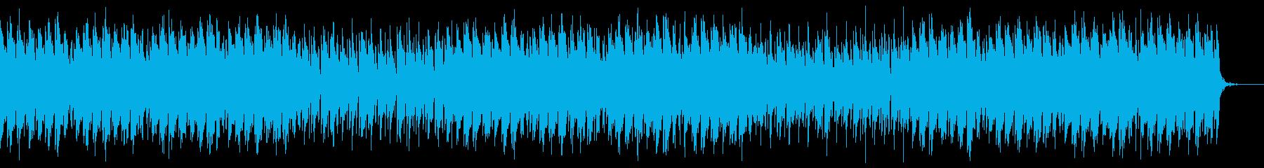 しっとりとした和風曲の再生済みの波形