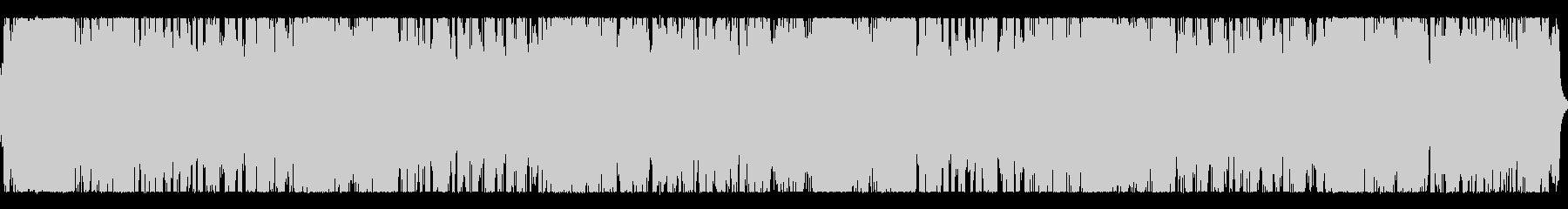 シリアスな雰囲気のシンセインストの未再生の波形