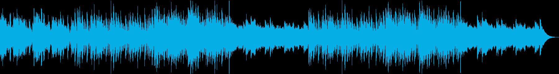 リバースシンバルなしの再生済みの波形