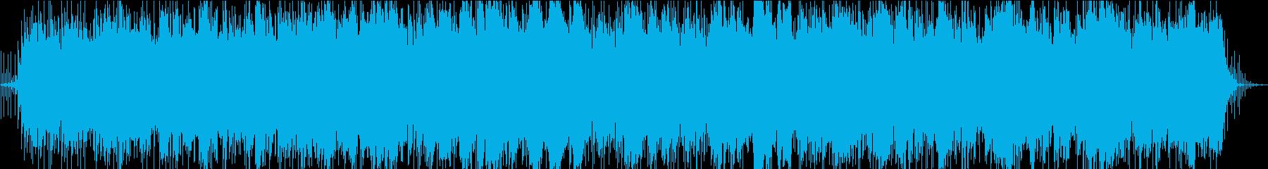 ピンクフロイドスタイルのギターサウンド。の再生済みの波形