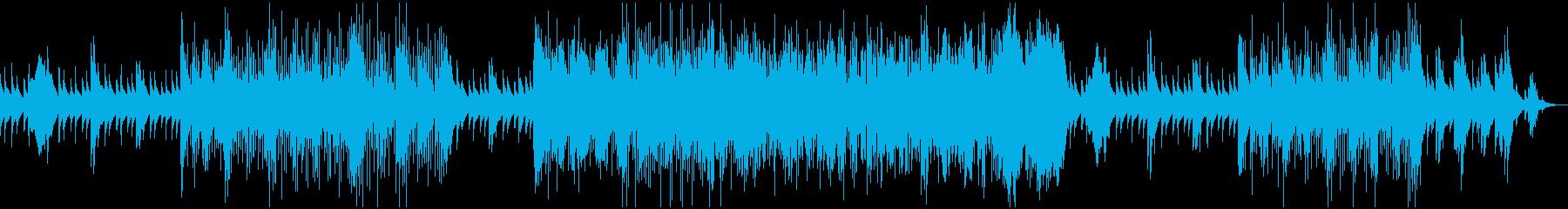 夜の静かなバーで飲む時のスイングJazzの再生済みの波形