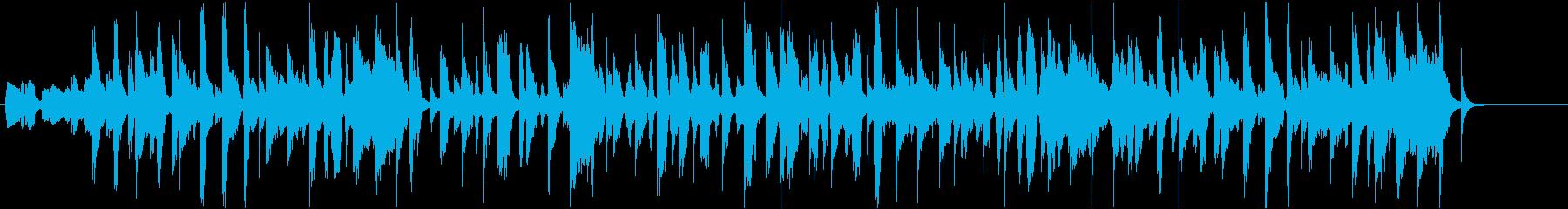イイダコをテーマにした楽曲の再生済みの波形