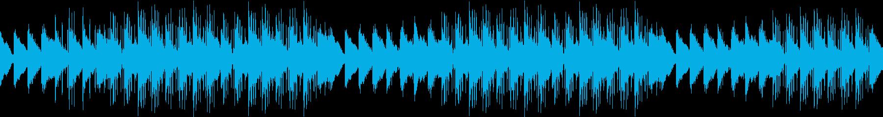 ピアノ・切ない・お洒落・別れ・ループの再生済みの波形