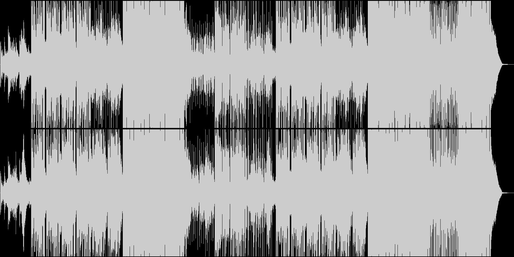 琴や尺八で奏でるゆったり系R&Bの未再生の波形