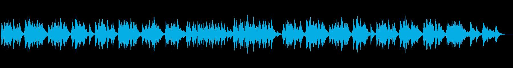 心あたたまるオルゴールの再生済みの波形